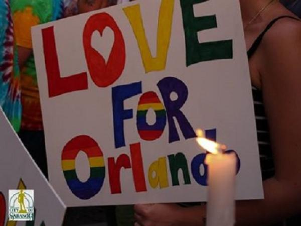 Love for Orlando Sign